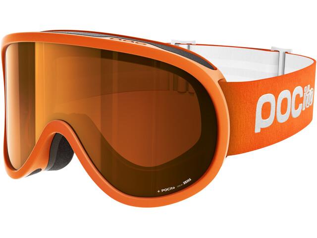 POC POCito Retina Lunettes de protection Enfant, zink orange